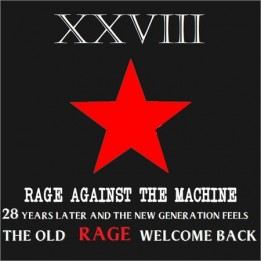 Rage Against The Machine - XXVIII (4CD Compilation) (2020)